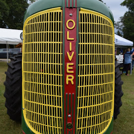 Oliver Antique Tractor by Kasha Newsom - Artistic Objects Antiques ( wisconsin, aniques, farm machine, tractor, farmers, fallharvestfestival )