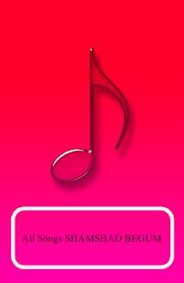 SHAMSHAD BEGUM Songs - náhled