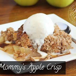 Mommy's Apple Crisp.
