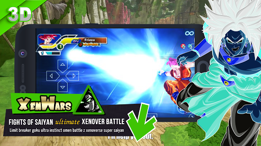 Ultimate Xen: Super Green Warriors 2 - screenshot