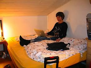 Photo: Nach einem anstrengenden Tag in meinem kuscheligen Zimmer.