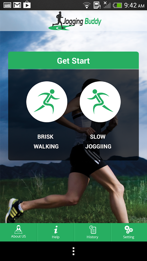Jogging Buddy- screenshot
