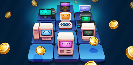 Build, merge, idle computer coin farm to Get Rich Quick!