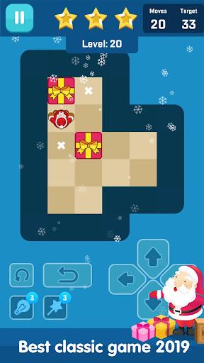 Santa Push Maze - Block puzzle game  captures d'écran 2