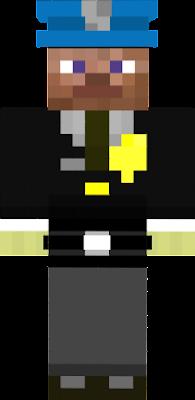 Village City Police Officer 1 (Steve with No Glass)