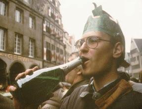 Photo: 1984 in Münster (Karneval, am Drubbel)