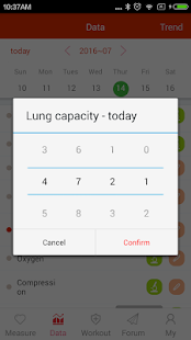 iCare Lung Capacity- screenshot thumbnail