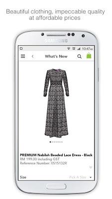 POPLOOK Modest Fashion - screenshot