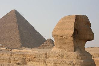 Photo: Le sphinx
