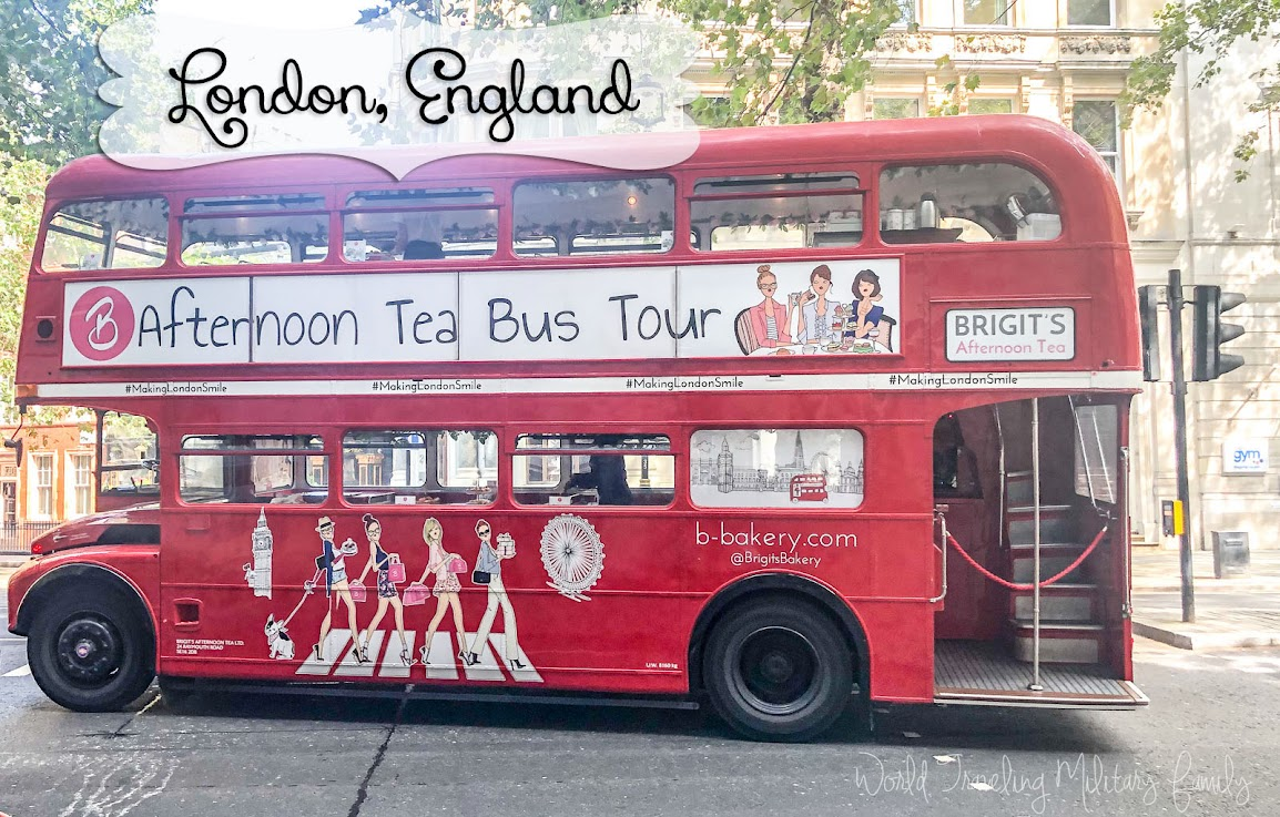 Brigit's Tea Bus Tour - London
