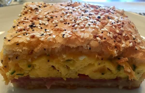 Crescent Ham & Egg Squares Recipe