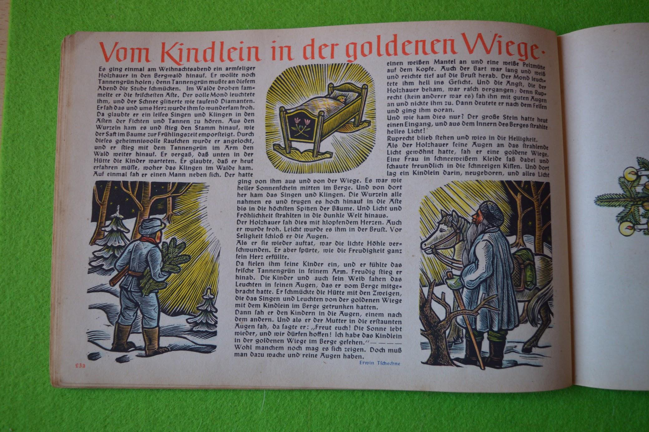 Adventskalender 1942 / 1943 – 24. Dezember - Heiligabend