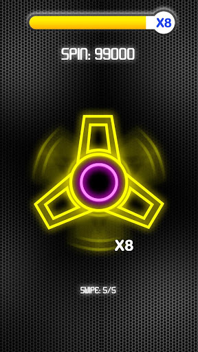 Fidget Spinner Neon screenshot 4