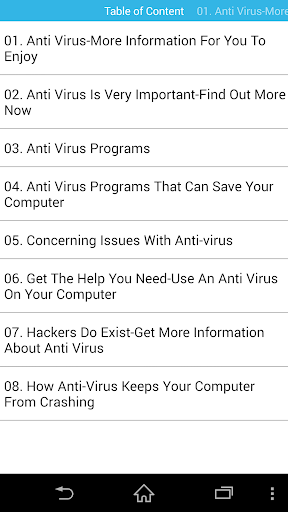 Antivirus Guides For Your Device 44.0 screenshots 1