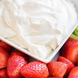 Healthy Yogurt Fruit Dip.