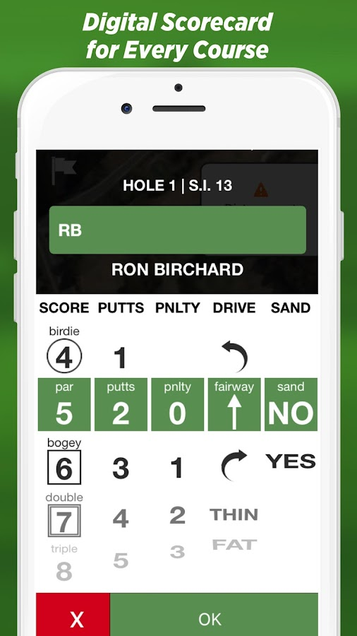 Golf GPS by SwingxSwing- screenshot