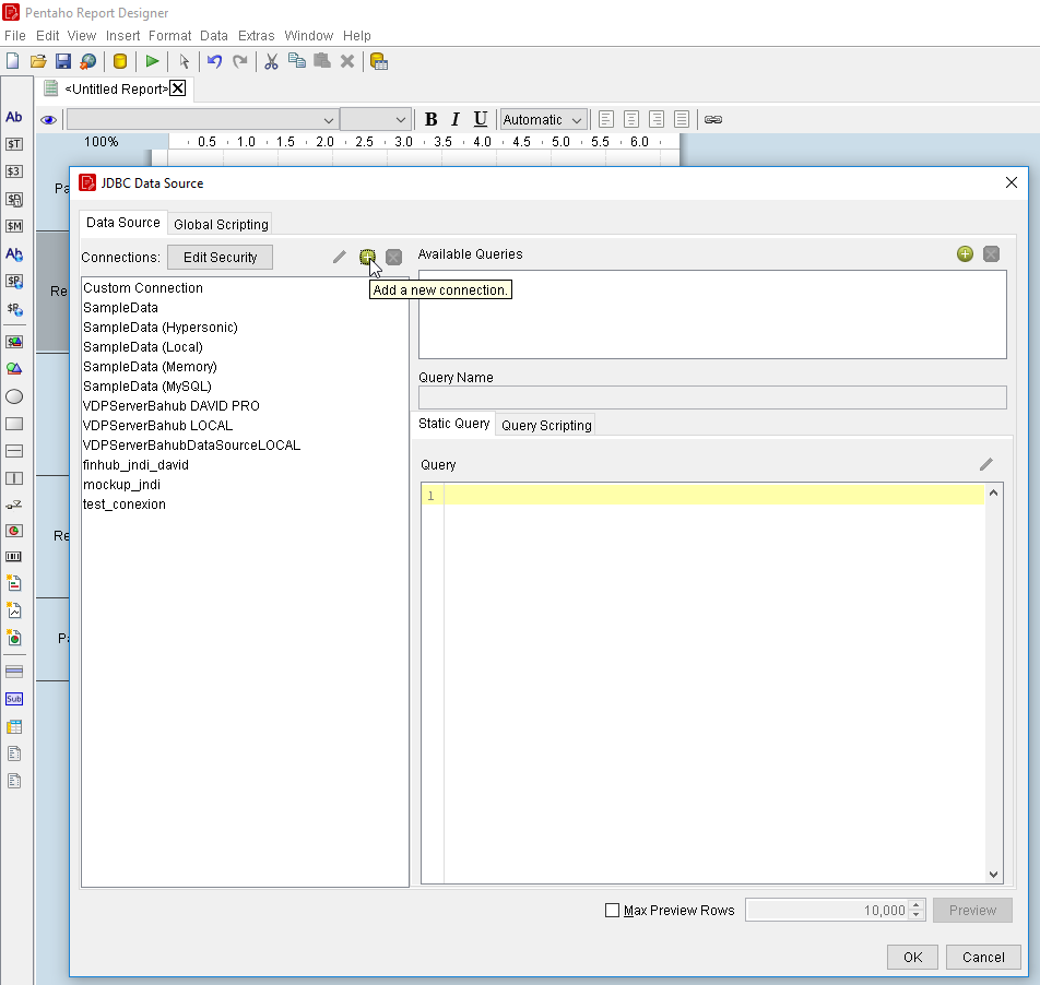 How to connect to Denodo from Pentaho