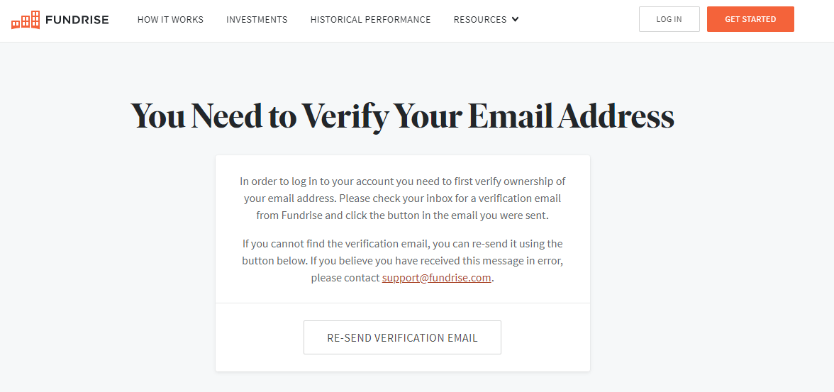 How to Start a Real Estate Crowdfunding Platform - email verification