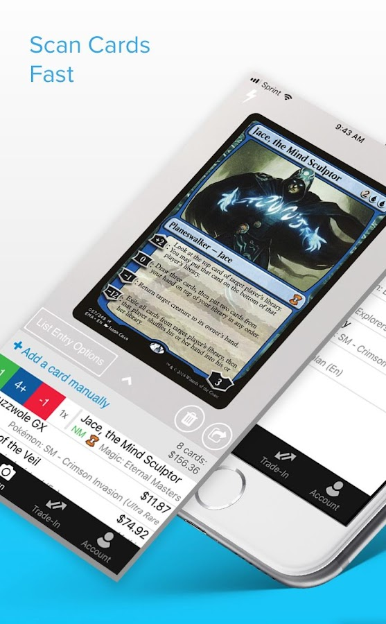 TCGplayer- screenshot