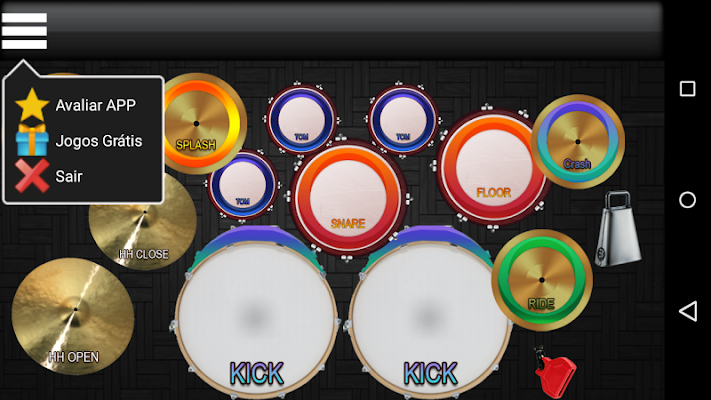 Drum Cool - Free Drum - screenshot