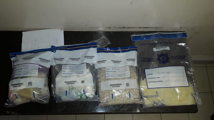 Cape Town police caught a 38-year-old man in possession of 200 Mandrax tablets.