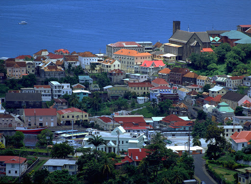 Grenada-StGeorges3.jpg - History buffs will appreciate the many historical sites in St. George's, Grenada.