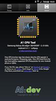 Screenshot of A1 CPU Tool
