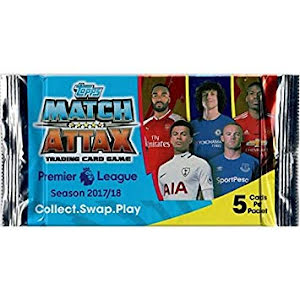 1 paket - Topps MATCH ATTAX Premier League 2017-2018