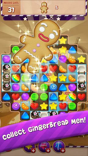 Sugar Witch - Sweet Match 3 Puzzle Game  screenshots 1