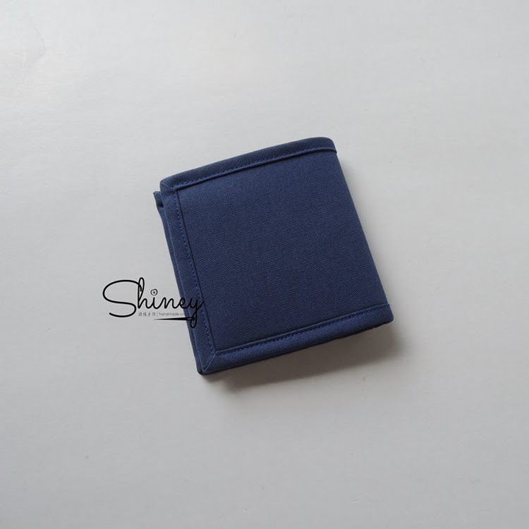 Handmade Men's Short Wallet