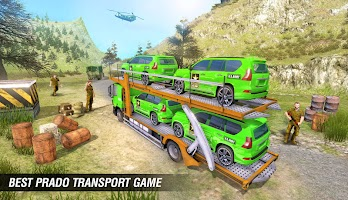 US Army Cruise Ship Transport Jeep Games