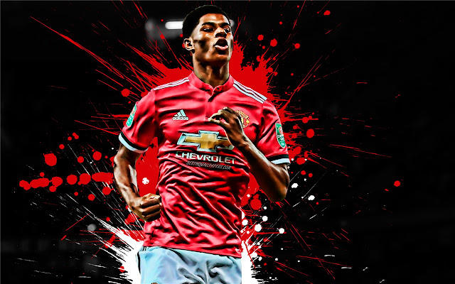 Marcus Rashford Themes & New Tab