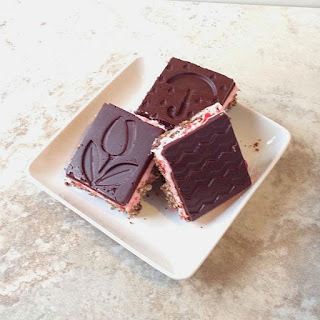 Cherry-Almond Nanaimo Bars