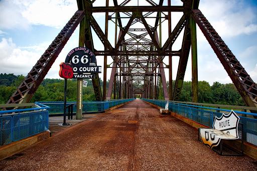 Etats unis moto Harley route 66