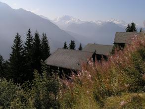 Photo: Chalets in Bettmeralp, Switzerland