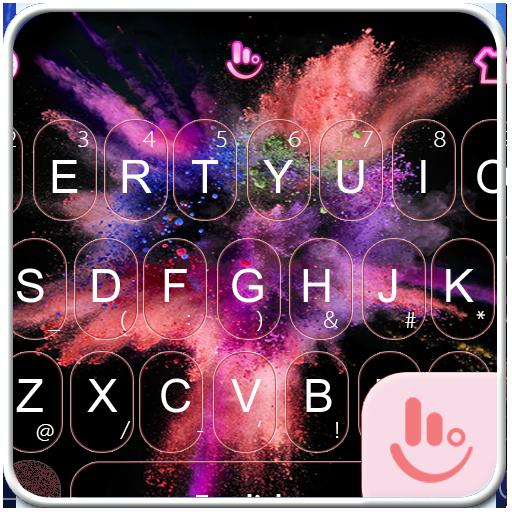 Color Festival 2017 Keyboard Theme