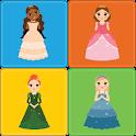 Princess Memory Game for kids icon