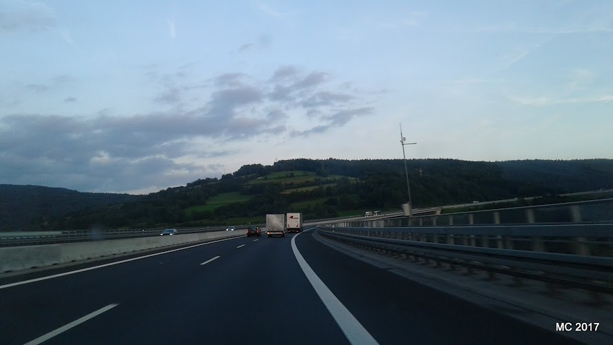 Spre Nord – Spre Sud – traversarea Germaniei