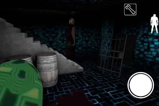 Horror Granny Is Cyber - Scary House screenshot 3
