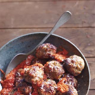 Meatballs in Romesco Sauce