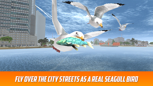 Seagull: Sea Bird Simulator 3D screenshot 0