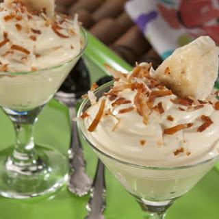 Tropical Coconut Banana Pudding.