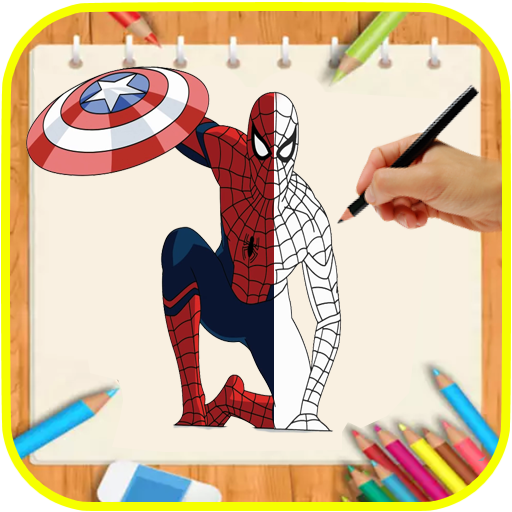 How Draw Spiderman