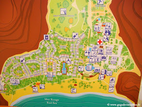 Photo: #002-Plan du village de Sinai Bay 2011