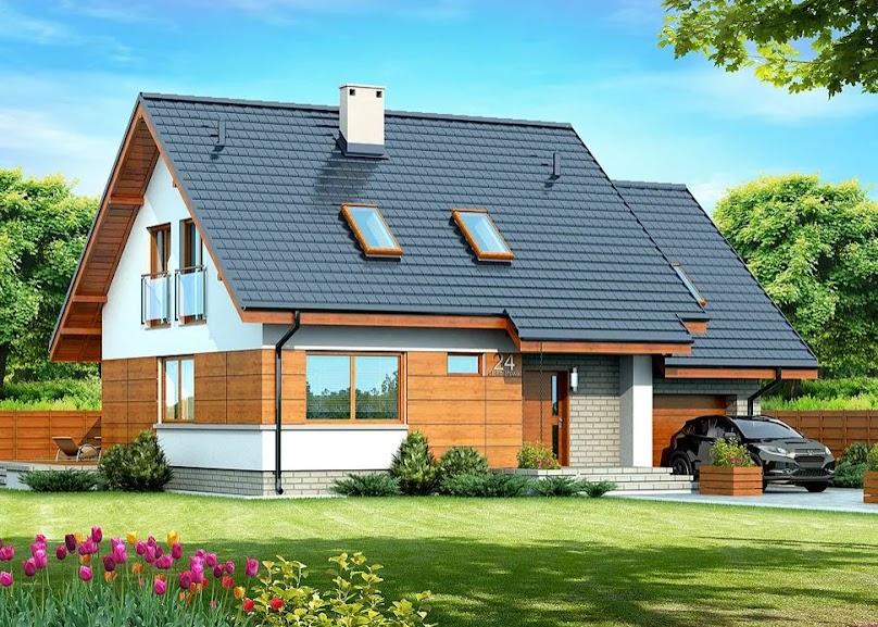 Projekt domu Lisandra Mała