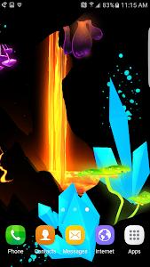 3D Fantasy Epic Lava Cave LWP v1