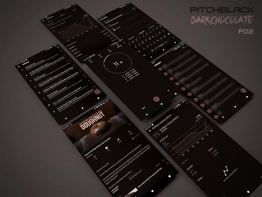 PitchBlack - Substratum Theme u272a Nougat/Oreo/Pie  screenshots 12