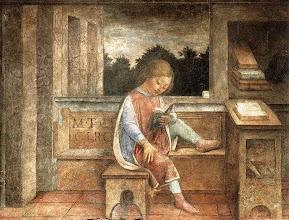 """Photo: Vincenzo Foppa, """"Fanciullo che legge Cicerone"""" (1464 ca.)"""