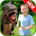 Jurassic Dinosaur Photo Montage icon