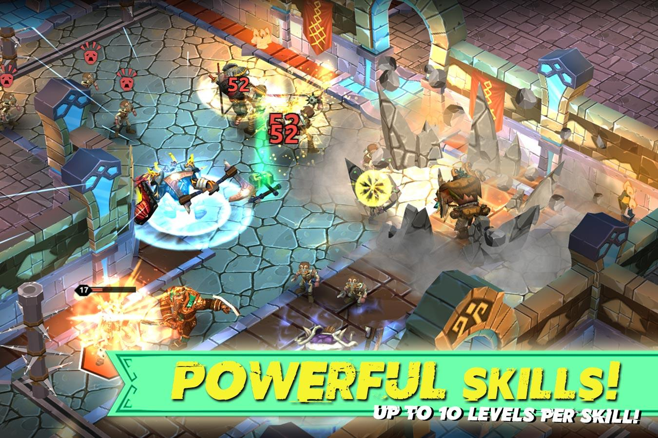 Dungeon Legends - PvP Action MMO RPG Co-op Games- screenshot